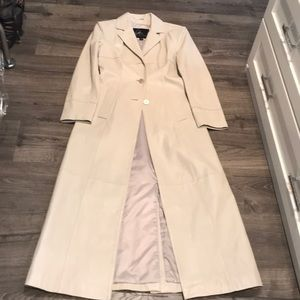 Supper long/tall Wilsons Leather Coat size S